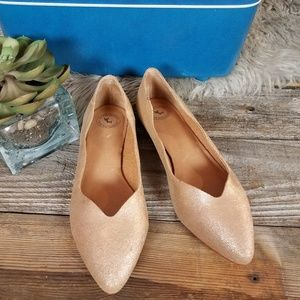 NEW Anthropologie Gee Wawa ballet flats, size 9